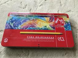 Caran d'Ache Colored Pencil set of 120 Supracolor *Brand New