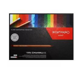 CARAN d'ACHE Luminance 6901, Dry Permanent Colored Pencils