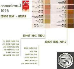 Caran D'Ache Luminance 6901 Skin Tones Selection  Highest Qu