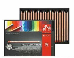 Caran d'Ache Luminance Colored Pencil Set of 20