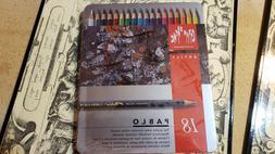 Caran D'ache Pablo Color Pencils Set Of 18. Retail $44.