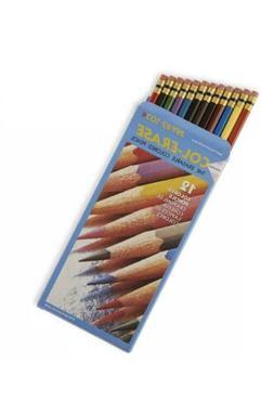 Prismacolor Col-Erase Erasable Colored Pencil, 12-Count, Ass