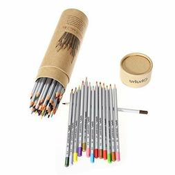 Color Pencil Set Sketch High Quality Drawing Recycled Wood 4