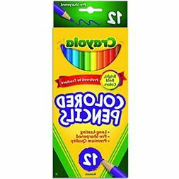 Crayola Color pencils, 12pk, Case Pack of 48, Ideal for Bulk