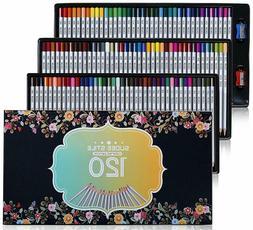 SUDEE STILE colored pencil 120 color set colors Coloring ske