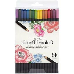 American Crafts Colored Pencil Set 48/Pkg-