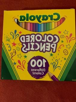 Crayola Colored Pencils 100 Count/60 Colors Set 8100