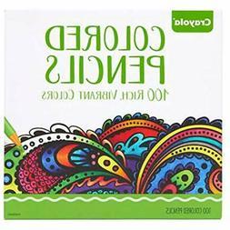 Colored Pencils Crayola 100 Count Pencils, Exclusive Colors,