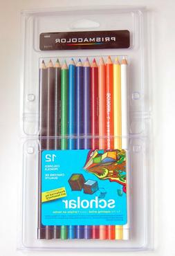 Prismacolor Scholar Colored Pencils 12-Color Set  - 12-Color
