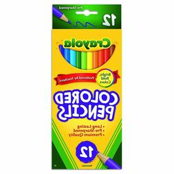 Crayola Colored Pencils 12 Count Assorted Colors