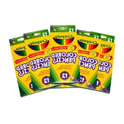 Crayola Colored Pencils 12-pack Lot of 6