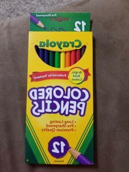 Crayola Colored Pencils, 12ct, Sharpened