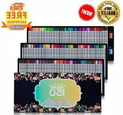 SUDEE STILE Colored Pencils 150 Unique Colors  Art Drawing S