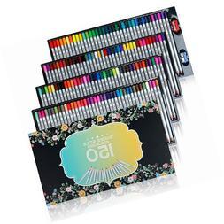 SUDEE STILE Colored Pencils 150 Unique Colours Pack  Art Dra