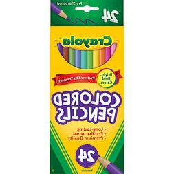 Crayola Colored Pencils, 24 Pack, Great for Adult Coloring