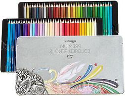 Colored Pencils - 72-Count Set