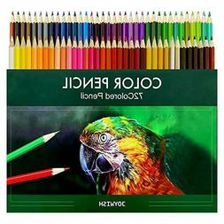 Colored Pencils 72colors Artist Quality-Coloring Book Colore