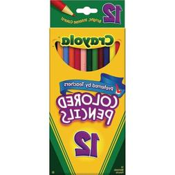Crayola® Colored Pencils, Assorted Colors, 12/Box