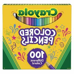 Crayola Colored Pencils, Assorted Colors, Set of 100