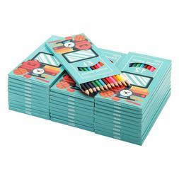 Cezan Colored Pencils Bulk, 12 Assorted Colors Pack of 30, P