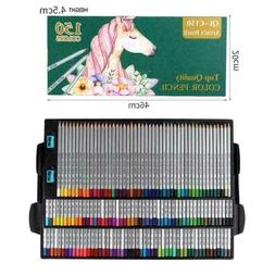 Colored Pencils Complete Set of 150 Assorted Colors Students