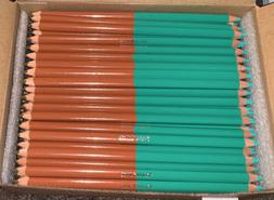 Papermate Colored Pencils Double Sided Green And Brown Qty 1