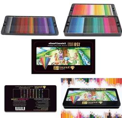 Colored Pencils Drawing Artist Premium Soft Core 120 Pre-Sha