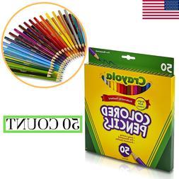 Crayola Colored Pencils Fun Drawing Art School Tools Premium