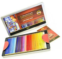 Colored Pencils KOH-I-NOOR Polycolor 72 Colors 3827 in Metal