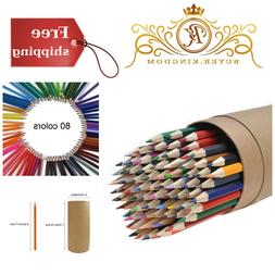 Colored Pencils Set For Adult Kids Sketch Arts Coloring Draw