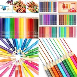 Colored Wooden Drawing Pencils Set Artist Painting Pencils