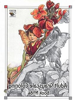 Adult Coloring Book  Flower Fairy Fantasy Pixies Cicely Bark