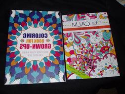 COLORING BOOKS FOR GROWN UPS - COLOR FOR CALM - PLUS FREE CO