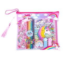 Hot Focus Coloring Journal Set – Rainbow Unicorn Coloring