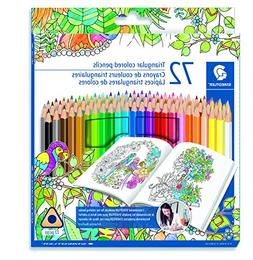 Staedtler Coloring Pencil Wood Colored Pencil 72-Count