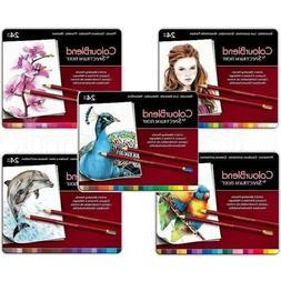 colourblend colored pencils 5 sets 120 blendable