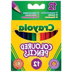 Crayola Coloured Pencils Strong Leads Pencil Crayons Pack of
