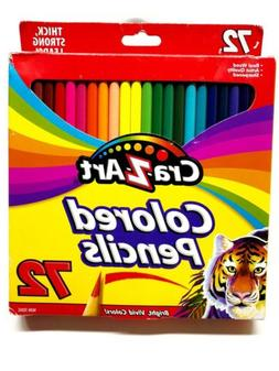 Cra-Z-Art Colored Pencils 72-Count, Real Wood Colored Pencil