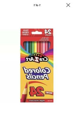 Cra-Z-Art Colored Pencils Pack - 24 Count