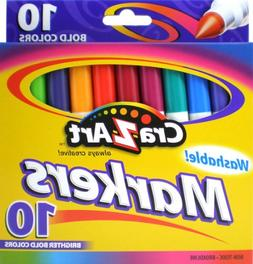 DDI - Cra-z-Art Washable Markers Broadline 10CT
