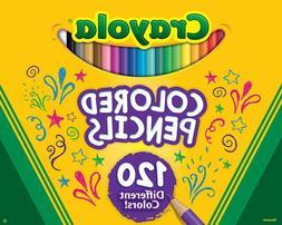 Crayola Colored Pencils, No Repeat Colors, School Supplies,