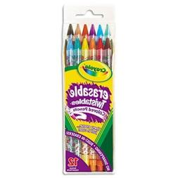 Crayola® Twistables® Erasable Colored Pencils 12-Pack PENC