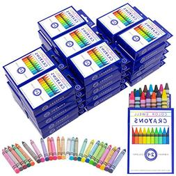 Crayons Bulk 36 Packs of 24 Count Vibrant Colors Teacher Qua