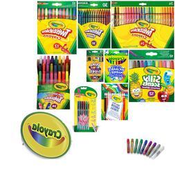 Crayola - Crayons, Glitter Glue, Gel Pen, Markers, Coloured