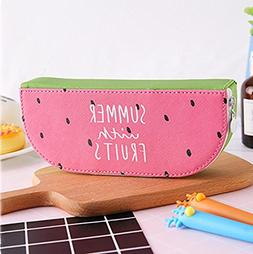 3 Pack Cute Milk Shape Pencil Bag by Coerni
