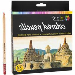 Colore Colored Pencils 72 Premium Pre-Sharpened Color Pencil