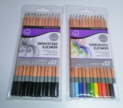 Daler Rowney Simply Colored Coloured Colouring Easy Grip Art