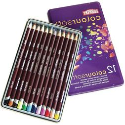 Derwent Coloursoft Pencil Tin, Assorted Color