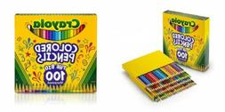 Crayola Different Colored Pencils, 100 Count, Adult 1-Pack o