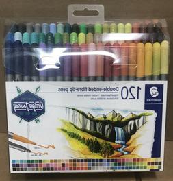 Staedtler Double Ended Fibre Tip Pens 120 Brilliants Assorte